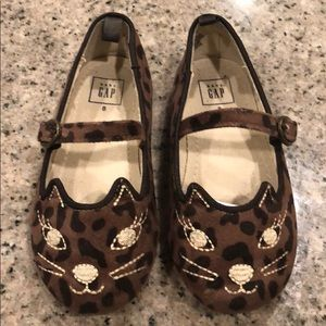 Baby Gap Leopard Kitty Shoes